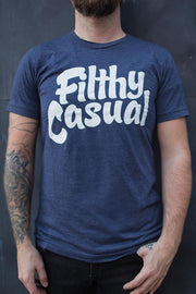 Navy Logo T-Shirt - Filthy Casual Co.