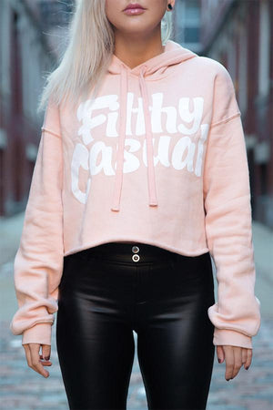Peach Crop Hoodie - Filthy Casual Co.