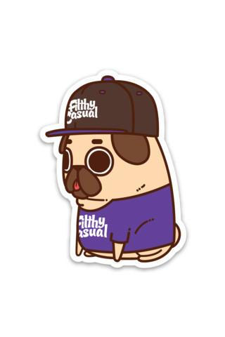 Puglie Sticker - Filthy Casual Co.