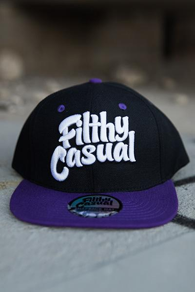 Raven Snapback - Filthy Casual Co.