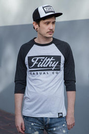Shred Raglan - Filthy Casual Co.