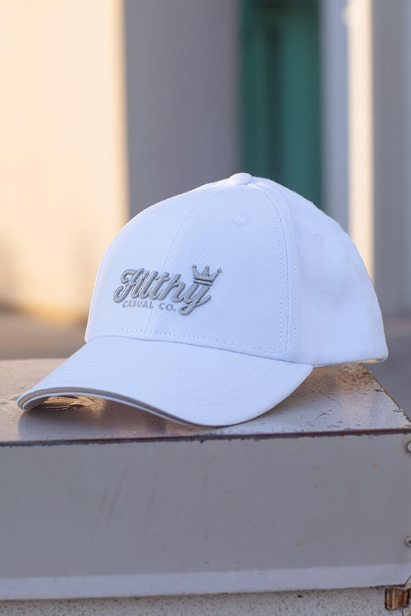 Silver Lining Snapback - Filthy Casual Co.