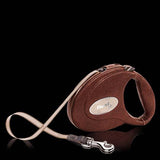 Flexi Brown pebbled leather hand finished