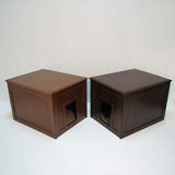 Cat cabinet in Mahogony and Espresso finishes