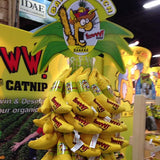 Organic Catnip Bananas display bunch
