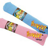 Organic Catnip Cigar individual Pink and Blue shown