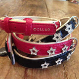 Stack of Star collars Red and Black
