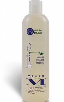 Mauro Essential Shampoo product bottle shown