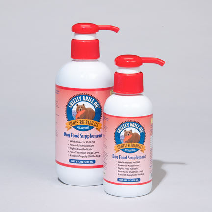 Grizzly Wild Krill Oil for Dogs and Cats