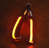 Lumi LED illuminated dog harness Orange color lighted