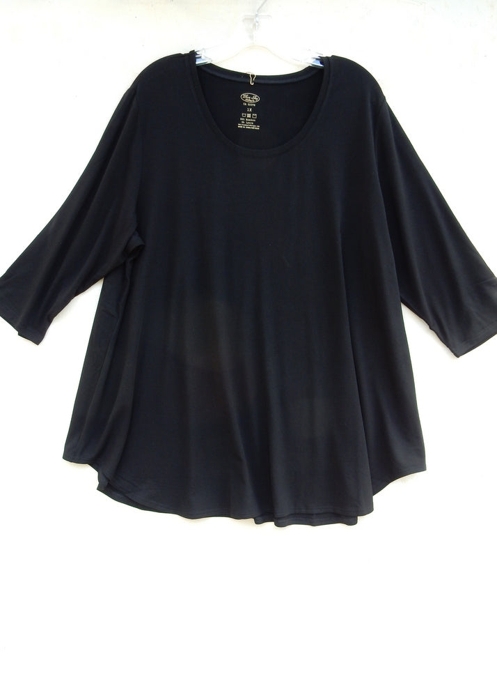 - shirttail tunic -