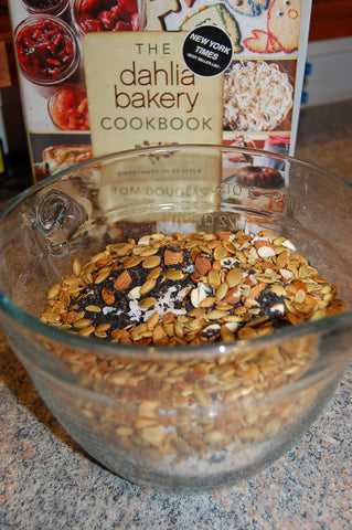 Homemade Granola Dry Ingredients