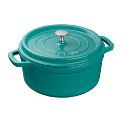 Staub Turquoise Cocotte $99