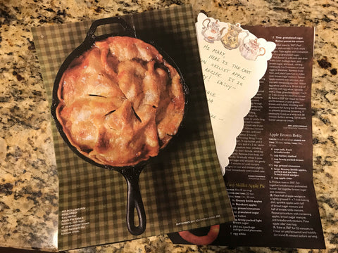 Skillet Apple Pie Recipe - Culinary Apple