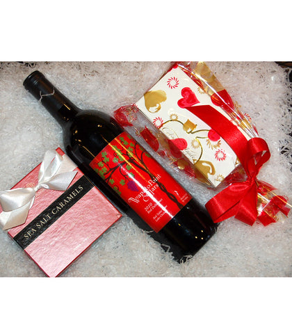 Red Wine and Chocolate Gift