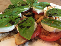 Caprese Salad from Siren Song Winery at Lake Chelan