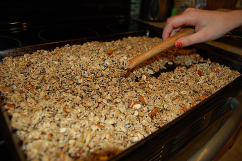 Stir Granola Regularly