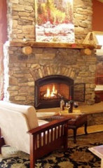 The Fireplace at The Cabin