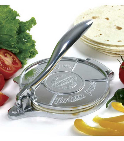 "6"" Tortilla Press at Culinary Apple"