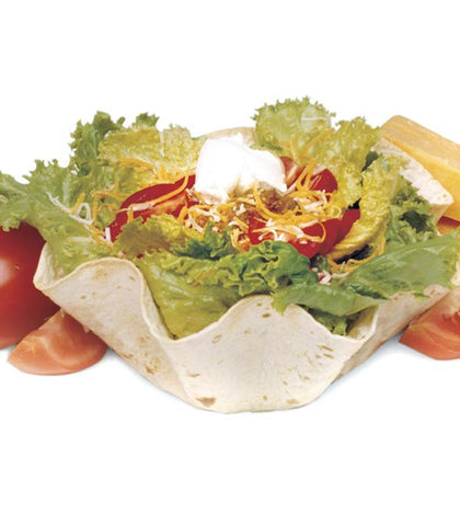 Mexican Salad in a Tortilla Bowl