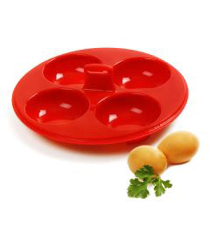 Norpro Silicone 4 Egg Poacher at Culinary Apple