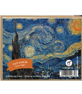 Piatnik Bridge Playing Cards -  Starry Night