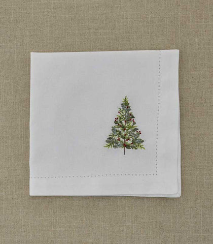 Park Designs Winterberry Embroidered Napkin at Culinary Apple