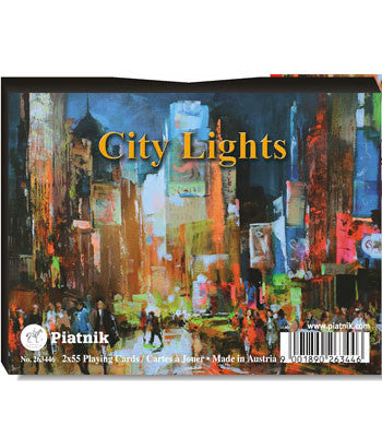 Piatnik Bridge Playing Cards -  City Lights