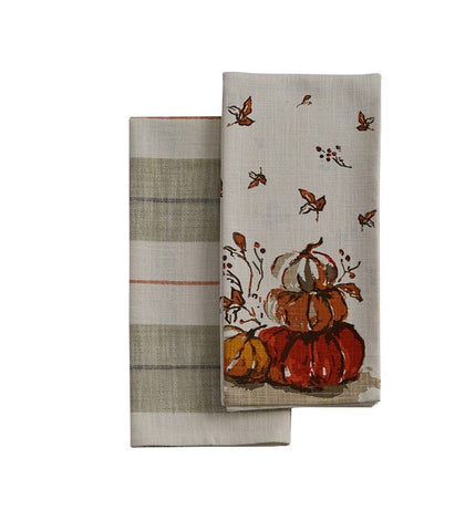 Park Designs Pumpkin Dishtowel Set at Culinary Apple