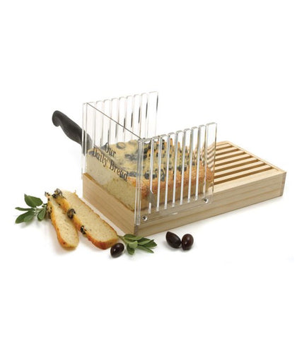 Norpro Acrylic Bread Slicer at Culinary Apple