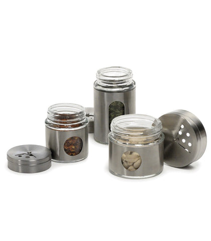 RSVP Glass Spice Shaker at Culinary Apple