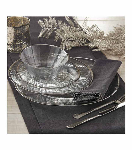 Park Designs Silver Glass Dinnerware at Culinary Apple