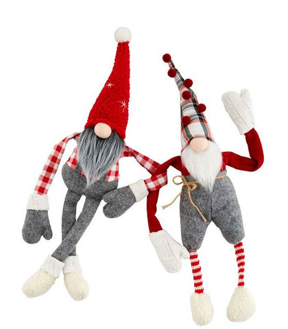 Christmas Dangle Arm Gnomes