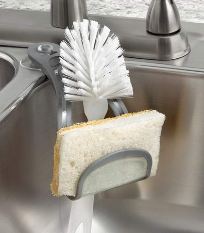 Spectrum Suction Sponge + Brush Holder at Culinary Apple