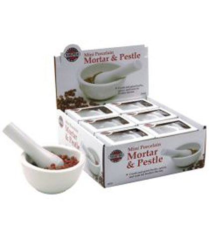 Norpro Mini Porcelain Mortar & Pestle at Culinary Apple