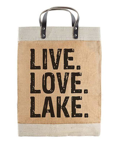 Live Love Lake Market Tote