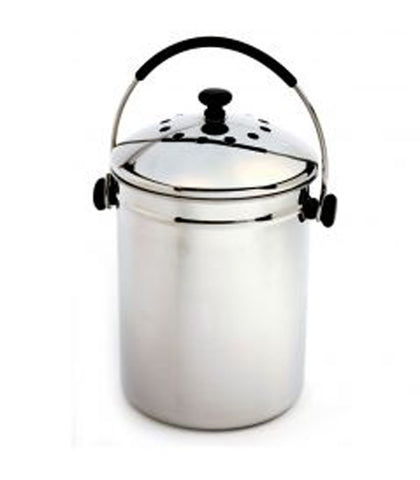 Norpro Stainless Steel Composter at Culinary Apple