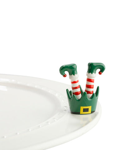 Nora Fleming Mini: Elf Feet