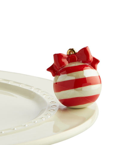 Nora Fleming Christmas Mini: Red Ornament