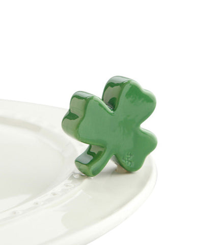 Nora Fleming Mini Shamrock at Culinary Apple