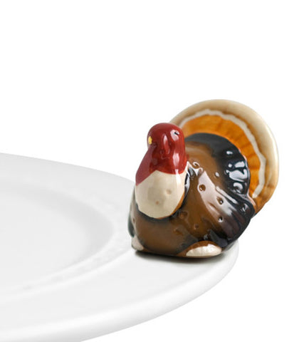 Nora Fleming Mini: Gobble Gobble!