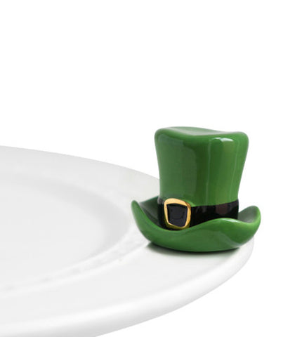 Nora Fleming Mini: St. Patrick's Day Hat
