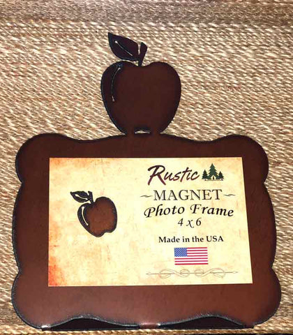 Rustic Magnet 4x6 Photo Frame