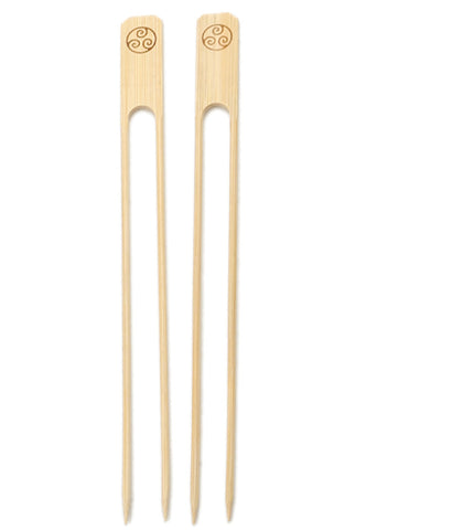 RSVP Bamboo Double Skewers at Culinary Apple