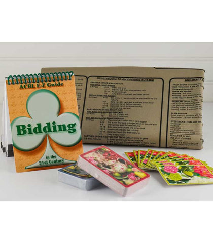 Bridge Bidding Gift Box