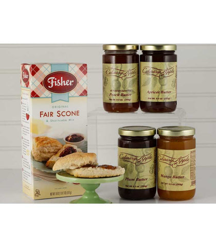 Scones and Fruit Butter Gift Box