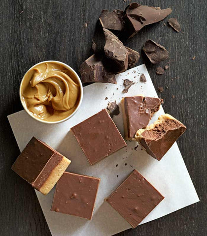 Homemade Chocolate Peanut Butter Fudge