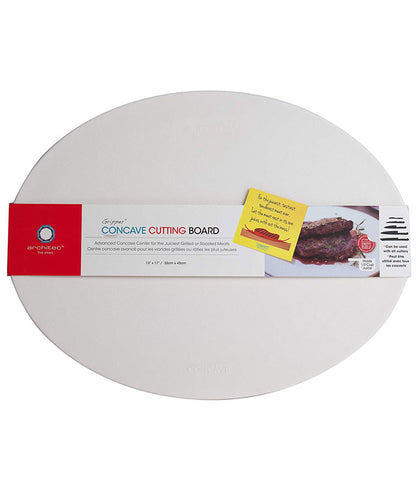White Concave Cutting Board at Culinary Apple