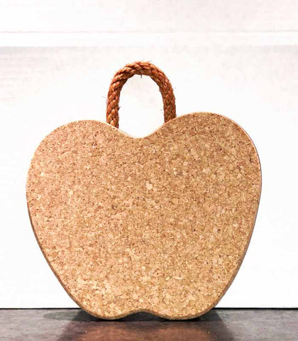 culinary apple cork trivet