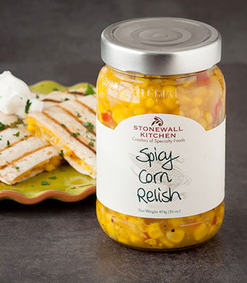 Spicy Corn Relish at Culinary Apple